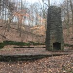 Ruins of the Betsy Ross cabin.