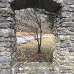 A peek inside the park.