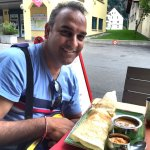 Dosa at the restaurant