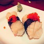 Sushis de calamar