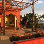 Katamah Beachfront Patio and Communal Kitchen taken Jan 2017