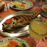 Whole Fried Snapper and Margarita!