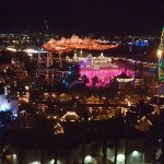 You could even watch the World of Color from our room!