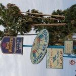 Signage of motel