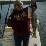 Nice redfish on light tackle