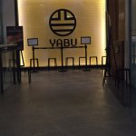 Yabu is located at the second floor of Glorietta 5