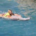 belly swim