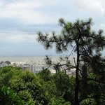 Scenic view of Macao from Guia Fortress