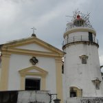lighthouse at Guia Fortress