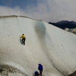 Escalada opcional en hielo en el glaciar Viedma