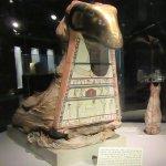 Mummified ram.