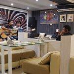 Manipuri Band performing live in Rita Cafe