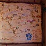 Map of the Sahara