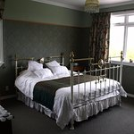 Stanway Lodge premium room, the Green Room