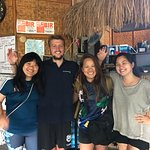 Our Divemaster Jakob and friendly Sunshine! :)