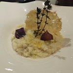 Risotto arborio au bouillon de volaille et parmesan