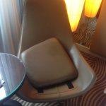 Sessel nach Zimmerreinigung