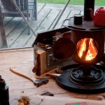 Our domes all feature insulating liners and woodburners, making them warm as toast all year roun