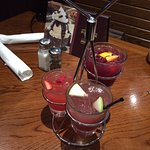 Our trio of Sangria for $15 (shared these too) Lunch for $35 with drinks !!
