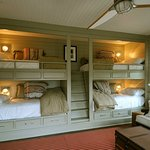 Bunk beds are available at the Dover backpackers
