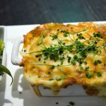The fabulous fresh Fish Pie @ The Bath House Restaurant