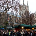 Southwark cathedral is a former Catholic landmark close to Borough Market