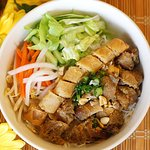 Grilled Lemongrass Chicken and Spring Roll Vermicelli