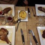 Entrecôte , faux-filets et côte de veau