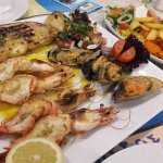 Fish plater B  Good choice if u dont wanna all fish meze !
