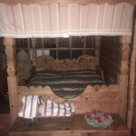 A typical Valaisan bed