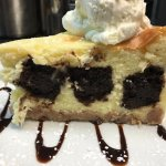 Sagra Bistro in the Lehigh Valley Brownie Cheesecake