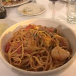 Linguine all'Arlecchino (Excellent!)