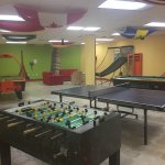 game room near gym and spa