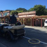 The town is charming, visit the Bearded Miners and Museum