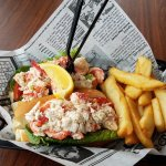 Lobster, Shrimp & Crab Roll