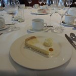 Pie for dessert in Drumossie Suite, Drumossie Hotel, Inverness, Scotland