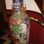 Bel vaso cinese di arredo.