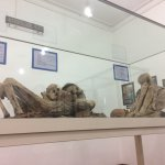 A Mummy inside the Museo Charcas