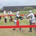 More sword fighting