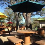 Clavo Cellars back patio. Lunch and a bottle anyone?