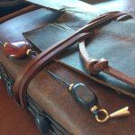 Touch the Sky - Leather Journals at Art on Oak Gallery, Hood River OR