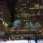 Rockfeller Center ice-skating rink