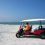 Free Beach Shuttle - Tip Only - Exclusive for Tropical Breeze Guests