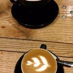 Horchata Latte and Cafe Cubano
