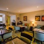 Lounge para uso exclusivo de clientes Lucerna Select