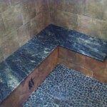 Steam Room Tile Detail