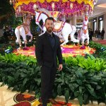 Charcoal Suit worn at the Wynn Las Vegas