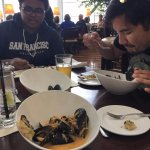 This mussels were incredible. Really really incredible.