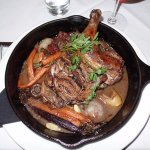 My humble choice was cog au vin, french peasant's food. The Catch did great with this country di