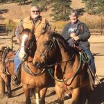 Best horseback trip ever! Thanks to Rosey and Spanky.